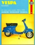 Vespa 1959-1978 Service Repair Workshop Manual