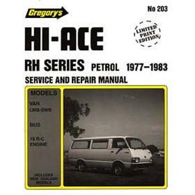 toyota hiace rh 1977 1983 service repair manualmanuals4u com au rh manuals4u com au Parts Manual Yamaha Service Manuals PDF