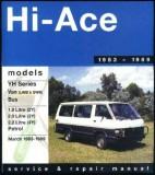 Toyota Hiace YH Series 1983-1989 Service Repair Workshop Manual
